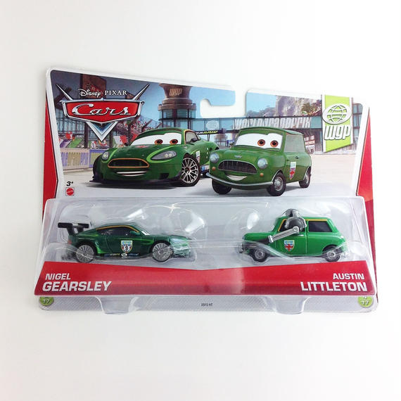 【Disney  PIXAR 】Cars NIGEL GEARSLEY AUTIN   LITTLETON wqp