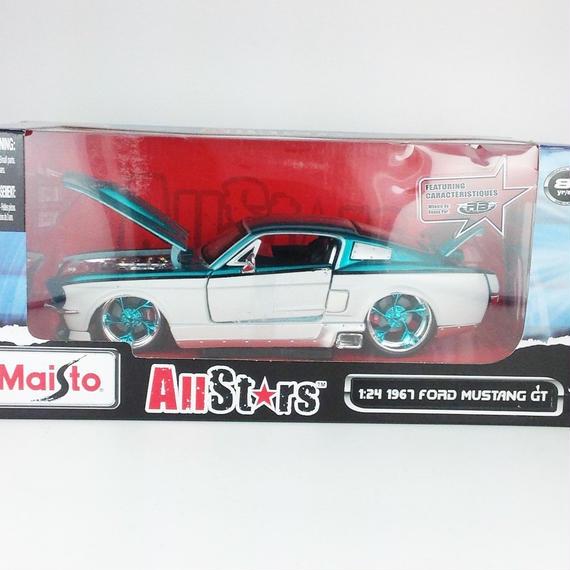【Maisto Allstars 】 1967 FORD MUSTANG GT