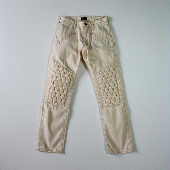 SCRAMBLE Trouser Canvas White