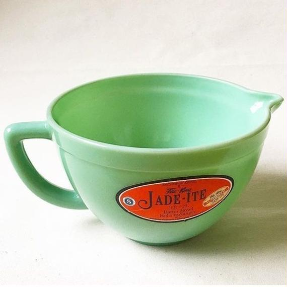 "Fire King 2000 ""JADE-ITE"" Batter Bowl 2L by Anchor Hocking"