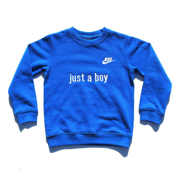 NIKE CUSTOM MADE CREW NECK SWEATSHIRT