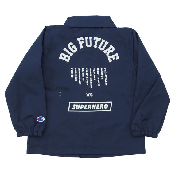 READYMADE BIG FUTURE  COACH JACKET / NAVY