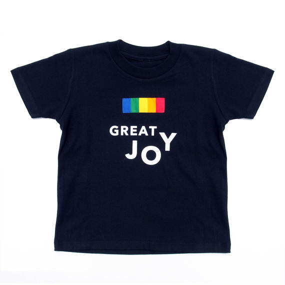 COLOR COMPOSITION PANEL TEE JOY NAVY