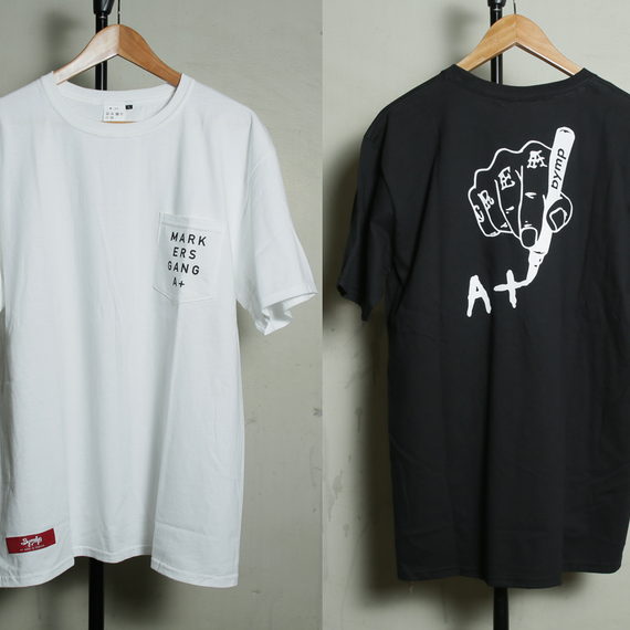"BYM&P ""MARKERS GANG A+"" Pocket Tee"