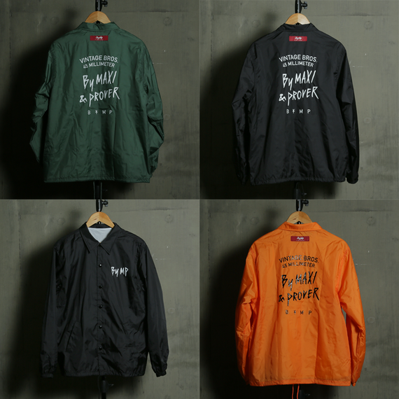 "Vintage Bros Nylon Jacket  ""45 MILLIMETER"""