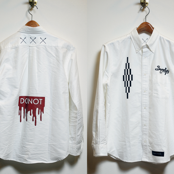 "【Sale Item】""C.WHT.C"" Oxford Shirt"