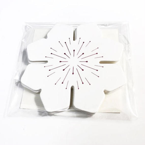 コースター UNIT COASTER [FLOWER]