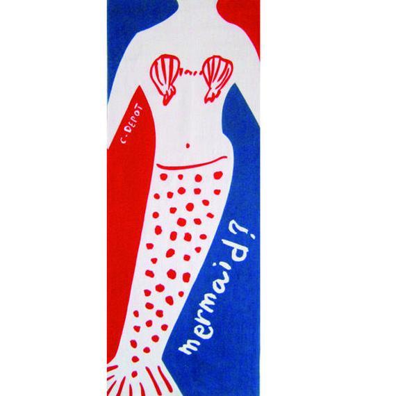 アーティストオリジナルてぬぐい mermaid?