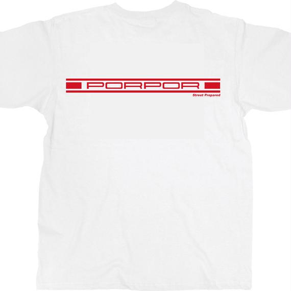SP008 Street Prepared PORPOR logo T-shirt