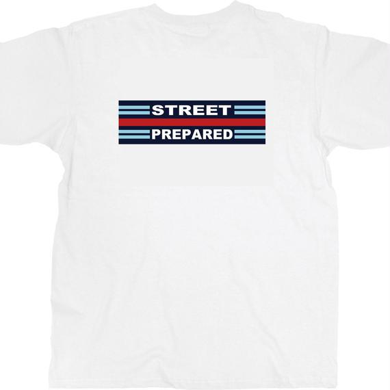 SP007 Street Prepared martini logo T-shirt