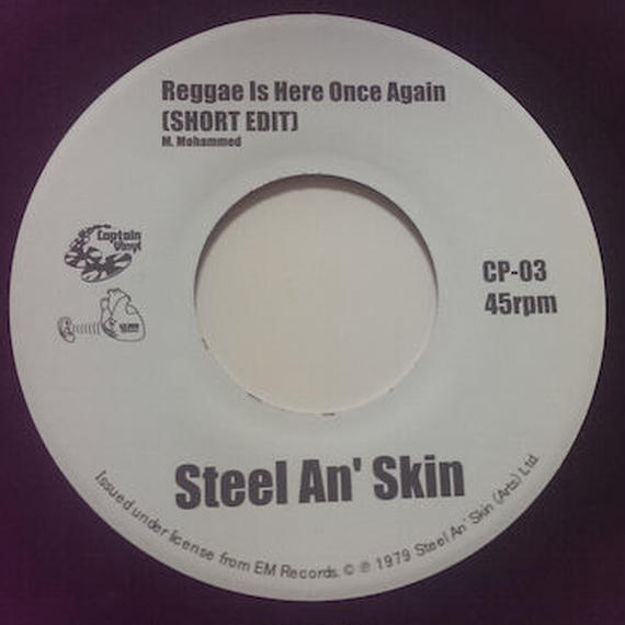 STEEL AN' SKIN:REGGAE IS HERE ONCE AGAIN(SHORT EDIT)/Afro Punk Reggae (Dub)(MURO' S EDIT)