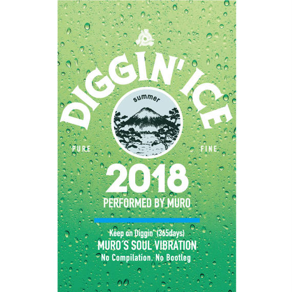 Diggin' Ice 2018 performed by MURO (CASETTE)