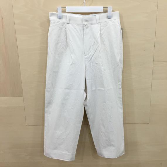YAECA / 68651 / チノタックストレート (WHITE)