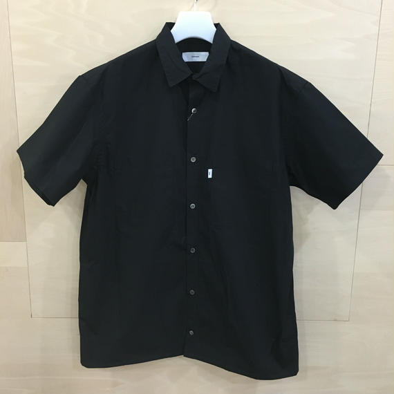 Graphpaper / GM50025B / Typewriter S/S Box Shirt (BLACK)