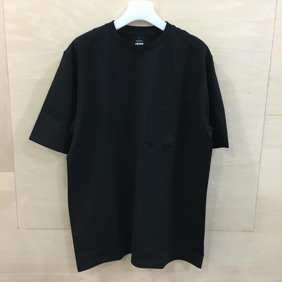 Graphpaper / GU191 70055B / S/S Pocket Tee (BLACK)