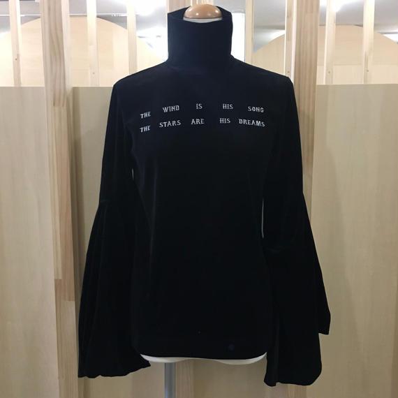 FACETASM / ベロアハイネックTシャツ / CHG-TEE-W09