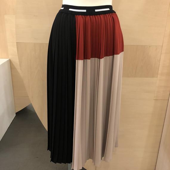 Graphpaper / Block Pleats Skirt / GL181-40072