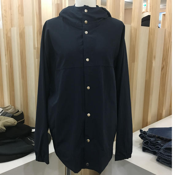 YAECA / 60/40 CLOTH HOODED SHIRT LONG / 174107