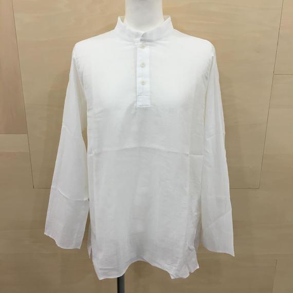YAECA / 68106 / クルタシャツ (WHITE)
