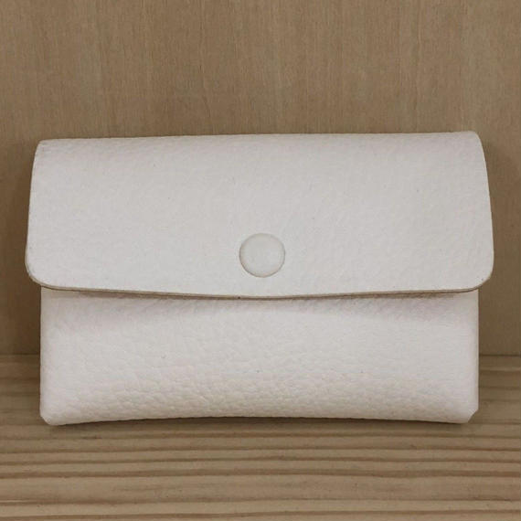 Aeta / DA18 / CARD CASE (WHITE/NATURAL)