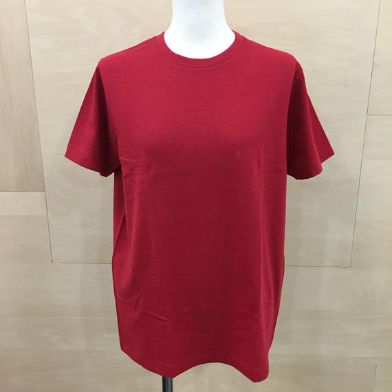 YAECA / 88005 クルーネックTシャツ (RED)