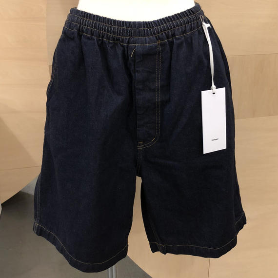 Graphpaper / Denim Baggy Shorts ID / GM181-40088B