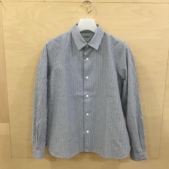 YAECA / 68151 コンフォートシャツ スタンダード (BLUE STRIPE)