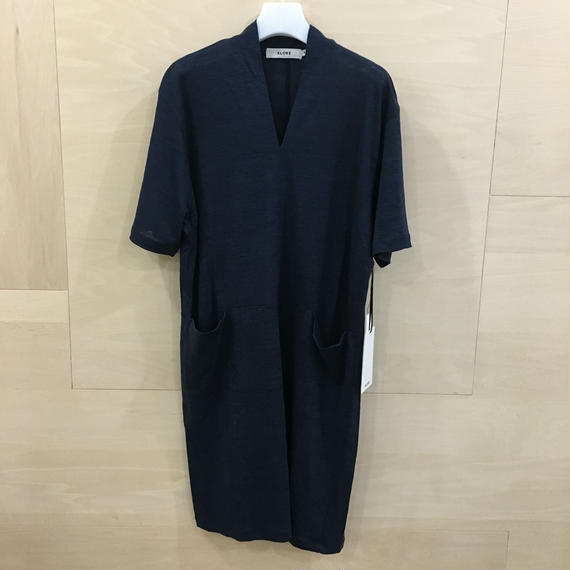 KLOKE / KLSP2912 / Sight Linen Dress (INK)
