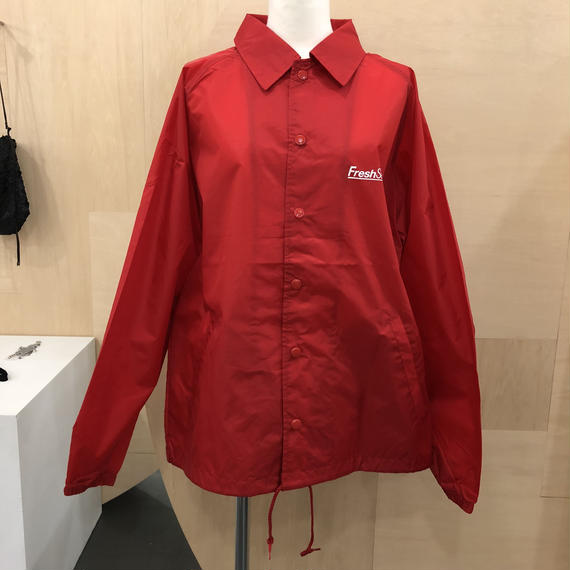 FreshService / FSW 18 CT 02 / CORPORATE COACH JACKET (RED)