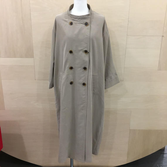 STAND COLLER COAT