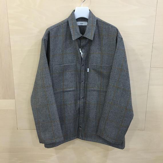 Graphpaper  / GL184 50506 / Glen Check Box Shirt (GLEN CHECK)