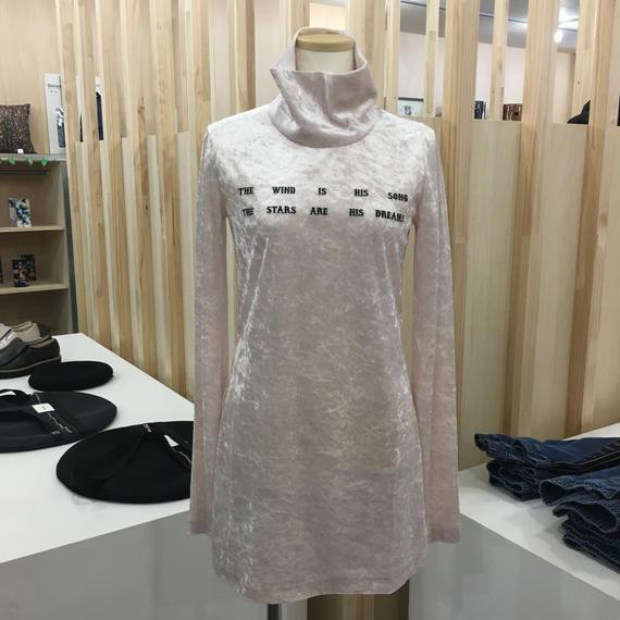 FACETASM / ベロアハイネックTシャツ / CHG-TEE-W11