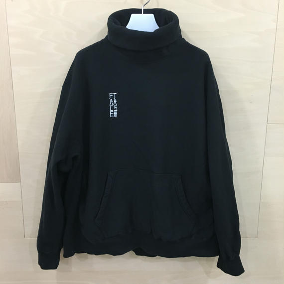 FACETASM / MRC SW U05 / HIGH NECK SWEAT SHIRT (BLACK)