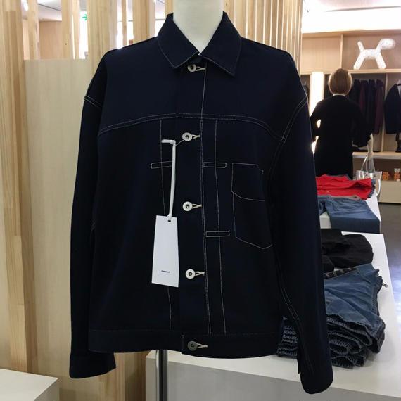 Graphpaper / Non Fade Oversize Denim Jacket / GL173-1006