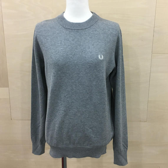 TIPPED CREW NECK (GRAY)