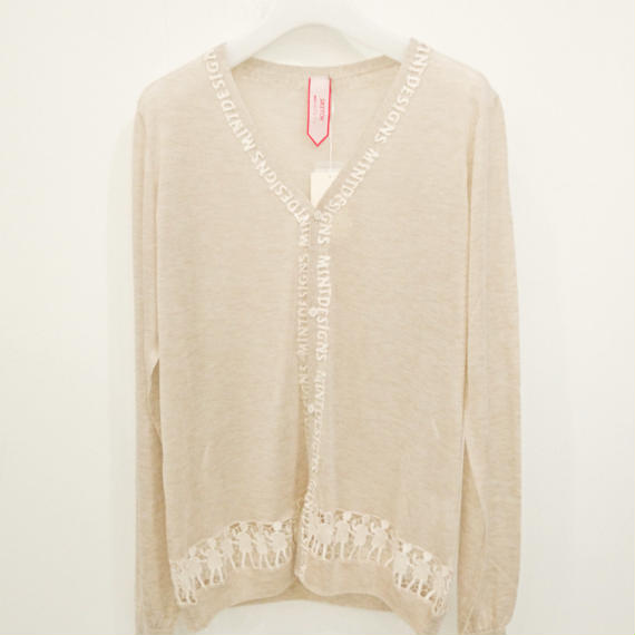 SKETCH mint designs / LACE CARDIGAN / 30173-KN1CD1