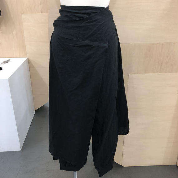 COSMIC WONDER / 07CW11053 / うみ羽衣のリネンフォークスーツ (BLACK)