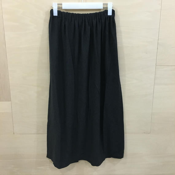 YAECA / 09018 / ラップスカート (C.GRAY)
