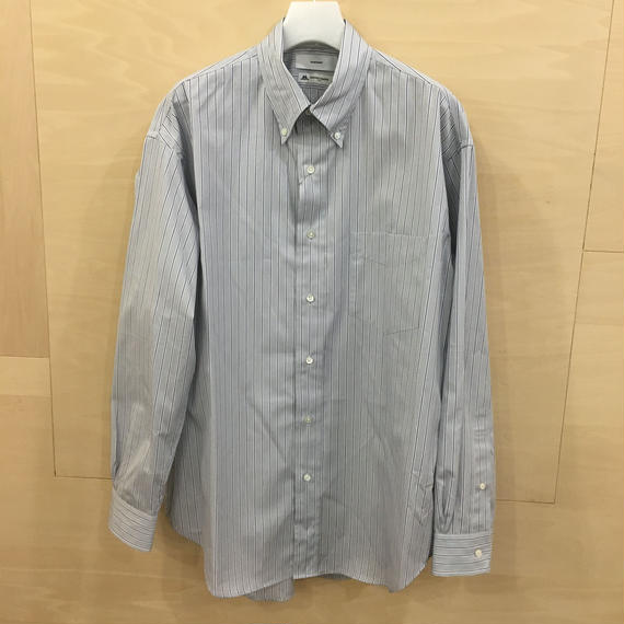 Graphpaper / GM191 50033B / THOMAS MASON L/S B.D Box Shirt (GRAY ST)