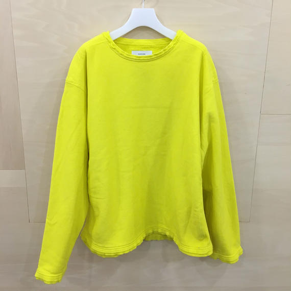 FACETASM / MRC SW U04 / LAYERED SWEAT SHIRT (YELLOW)
