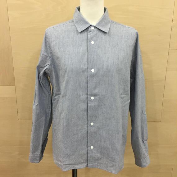 YAECA / 68102 / コンフォートシャツ リラックス (BLUE STRIPE)