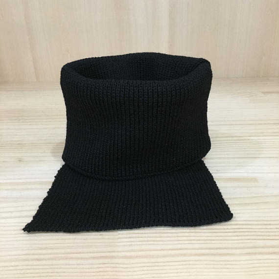 Nine Tailor / N 267 / Weft Neck Warmer (BLACK)