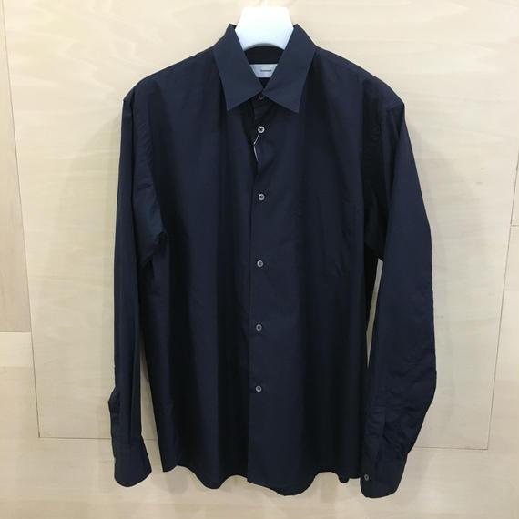 Graphpaper / GM191 50028B / Broad Regular Collar Shirt (NAVY)