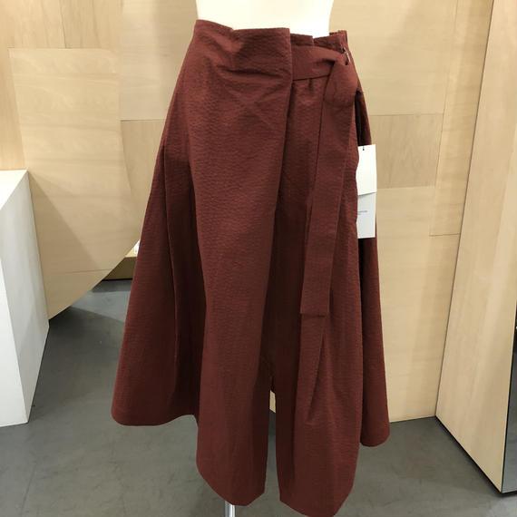 KLOKE / Tide D ring Skirt / KLSPC2525 (MAHOGANY)
