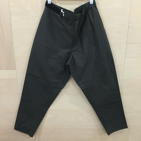 Graphpaper  / GM182 40082 / Typewriter Cook Pants (GRAY)