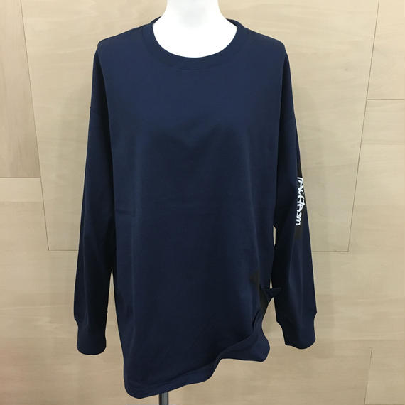 FACETASM / RB TEE U20 / TAPE LONG TEE (NAVY)
