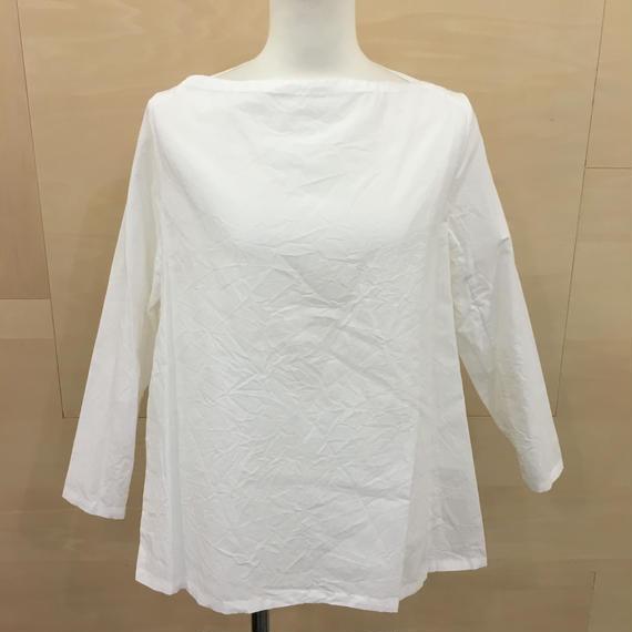 YAECA / 98110 / ラップブラウス (WHITE)