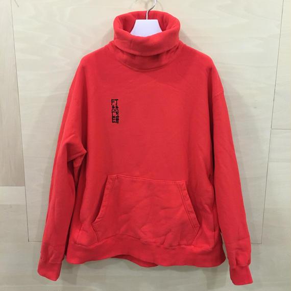 FACETASM / MRC SW U05 / HIGH NECK SWEAT SHIRT (RED)
