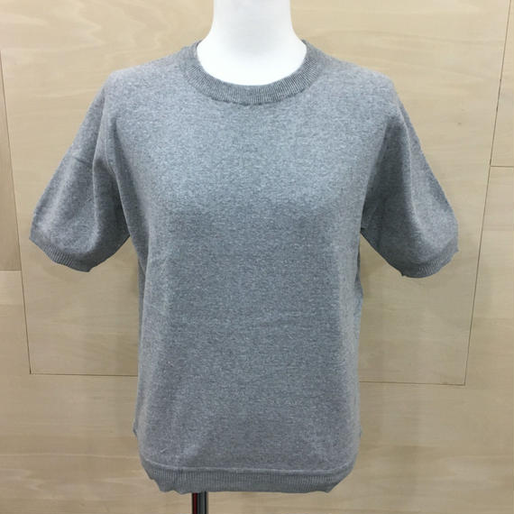 88001 GRY リンキングクルーネック S/S