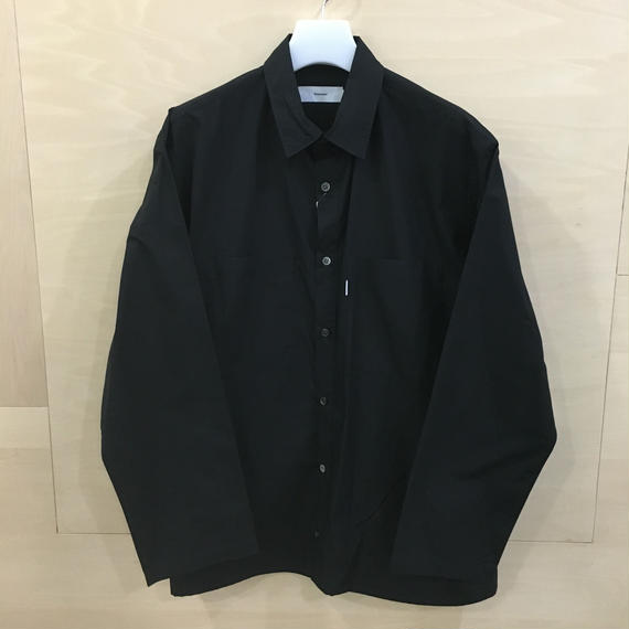 Graphpaper / GM191 50024B / Typewriter L/S Box Shirt (BLACK)